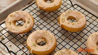 Doughnut Recipes - How To Make Maple Pumpkin Doughnuts