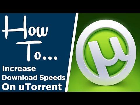General Methods to Increase Utorrent Speed