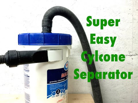 Easy cyclone separator