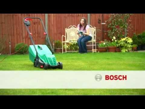 Видео обзор: Газонокосилка электрическая BOSCH ROTAK 32