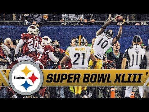 Santonio Holmes Incredible Game-Winning TD in Super Bowl