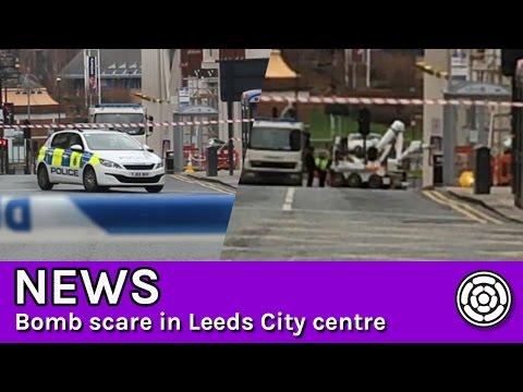 Bomb scare in Leeds City centre