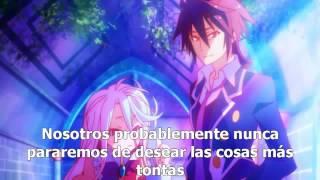 Repeat youtube video Ending No Game No Life-Sub Español