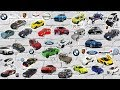 A lot of Cars Toys for Kids. Cars Cartoon - Car For Kids. Unboxing model cars