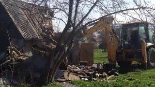 Демонтаж садового домика на земельном участке для строительства нового дома(ООО