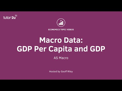 Handling Data: GDP Per Capita