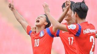 Korea Republic vs Syria: AFC U-16 Championship 2014 (Semi Final)