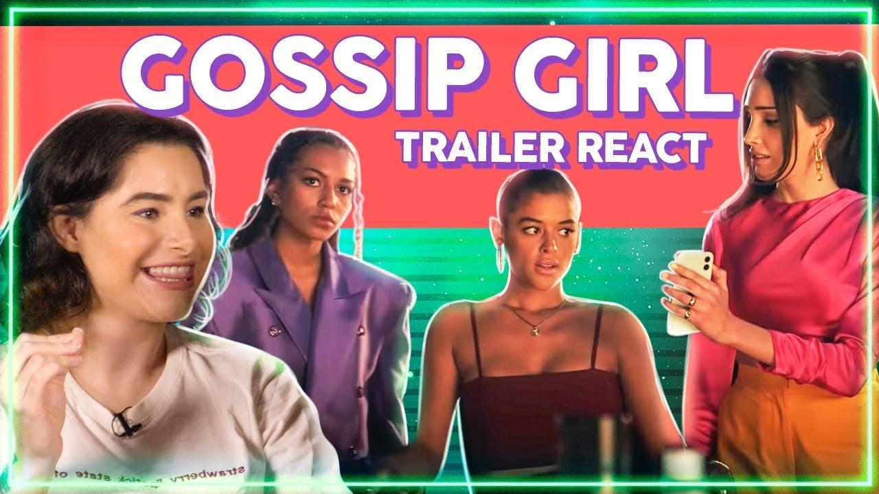 GOSSIP GIRL ESTÁ DE VOLTA! Trailer React + Análise e EXPECTATIVAS! | Alice Aquino