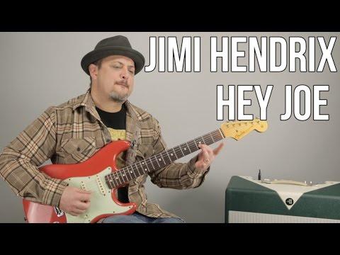 Jimi Hendrix Hey Joe Guitar Lesson
