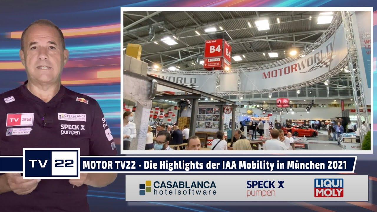 MOTOR TV22: Die Highlights der IAA Mobility 2021 in München
