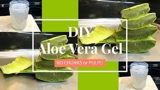 Homemade Aloe Vera Gel (NO CHUNKS!)   DIY   TheLifestyleLuxe