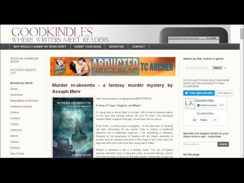 Best book promotion websites 2016