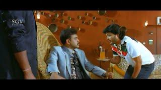 Ganesh Irritates Lover's Future Husband | Comedy Scene | Maduve Mane Kannada Movie | Shradda Arya