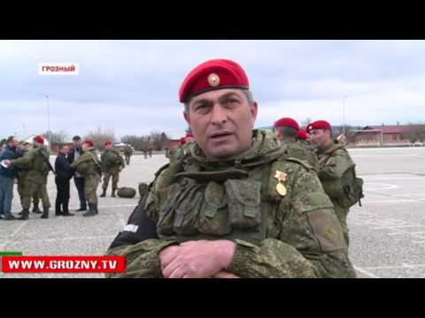 Глава Чечни принял участие в митинге, посвященном возвращению батальона военной полиции из Сирии