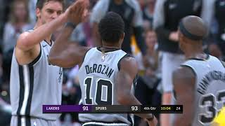Los Angeles Lakers vs San Antonio Spurs : October 27, 2018