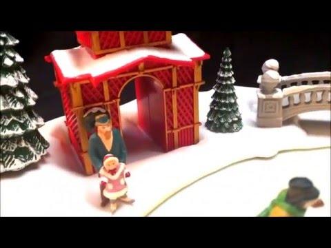 Mr Christmas Holiday Skaters Animated Musical Display