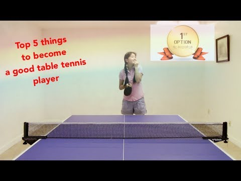 Thumbnail: 14. Top 5 things to become a good table tennis player——Yangyang's table tennis lessons