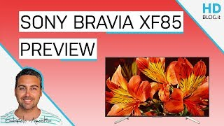 SONY BRAVIA XF85 ANDROID TV: 4K e Chromecast integrato   Anteprima