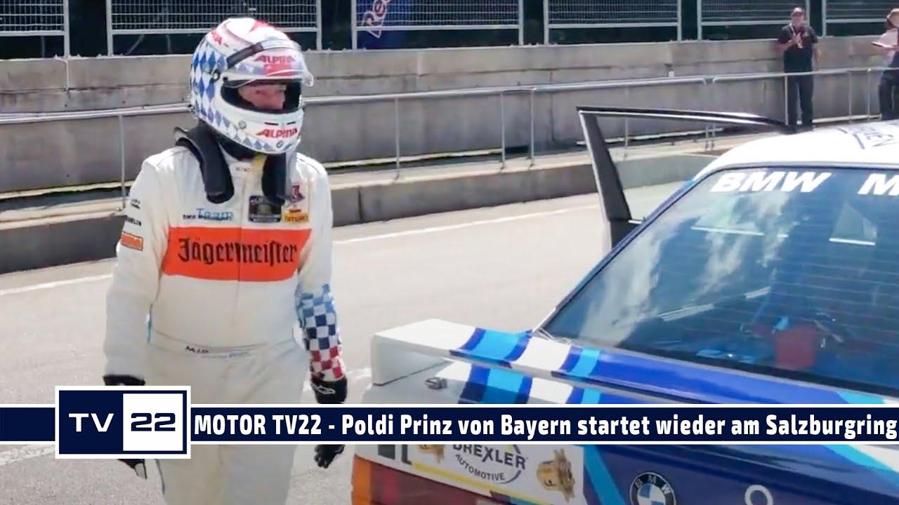 MOTOR TV22: Leopold Prinz von Bayern greift bei den Tourenwagen Classics am Salzburgring ins Lenkrad