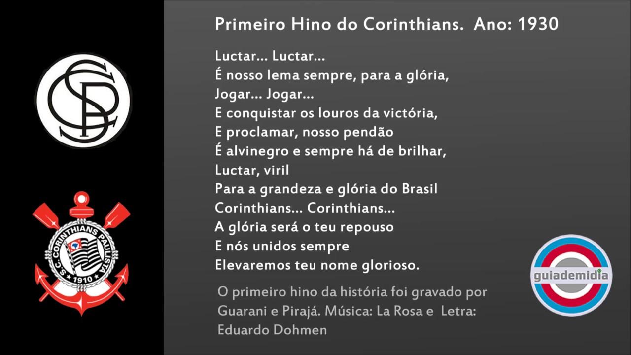 a letra do hino do corinthians