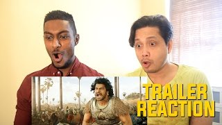 Baahubali 2 Trailer -The Conclusion Reaction and Review  With Baahubali - The Beginning By Stageflix