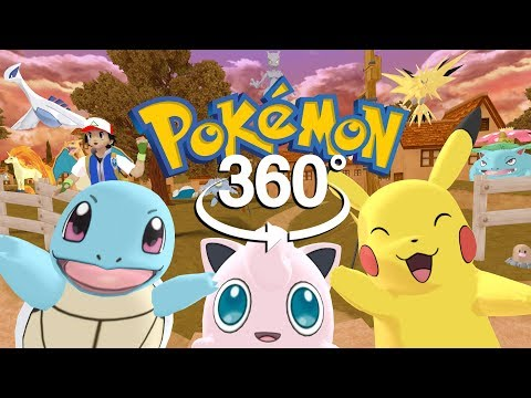 Pokémon GO 2! - 360° Adventure Video! - (The First 3D VR Game Experience!)