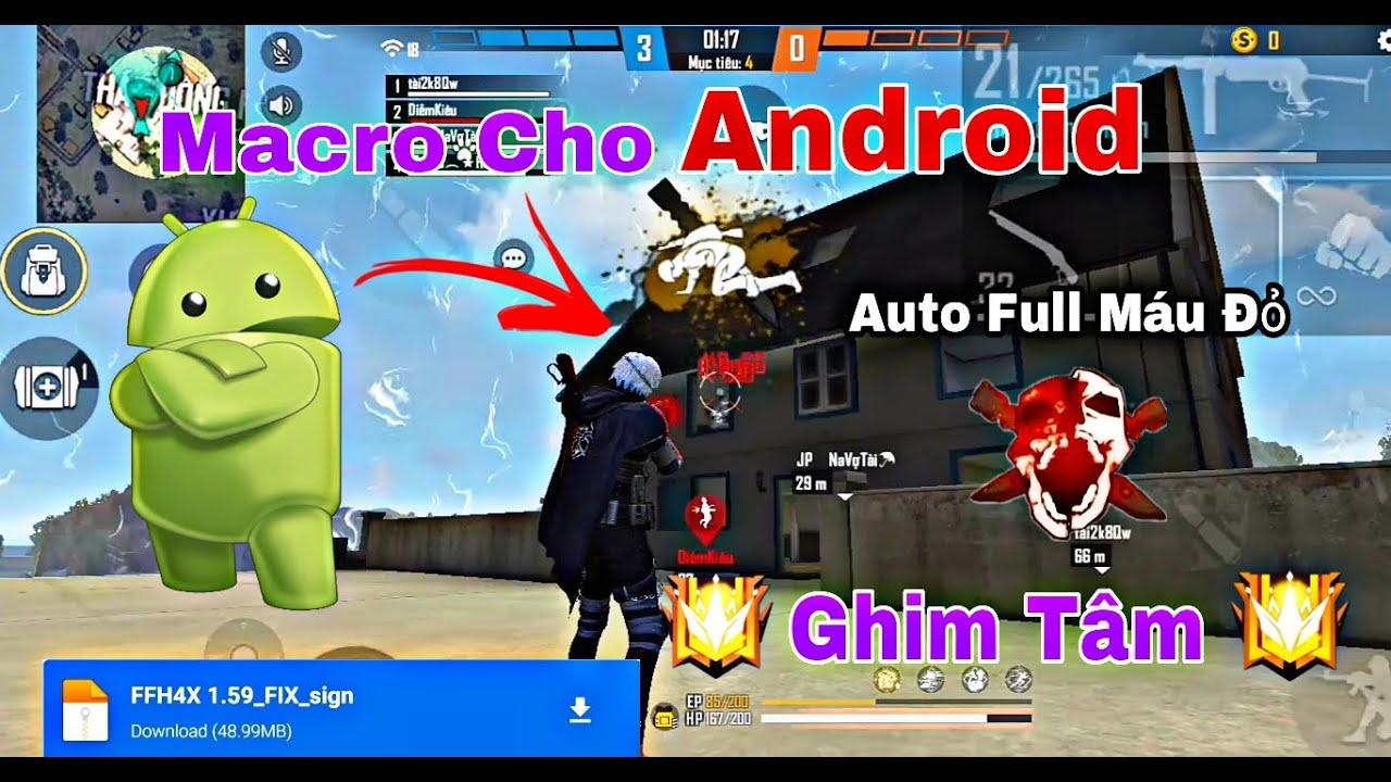 [Free Fire] Review Aimbot Macro Trên Android 100% Headshot Ob28 | Bắn Full Máu Đỏ |HuyYT Gaming