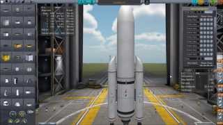 Using Robotics - Deconstructed Satellite #1 - Kerbal Space Program 0.22
