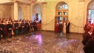 Королевский выпускной бал НГУ 2013.Венский вальс