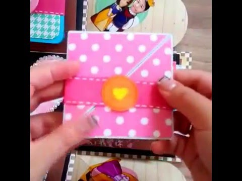 老公,結婚週年快樂! 最特別的手作爆炸卡片盒 - YouTube