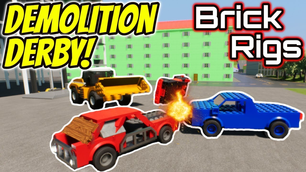 Brick Rigs Demolition Derby With Spy Cakes Beautiful Ob
