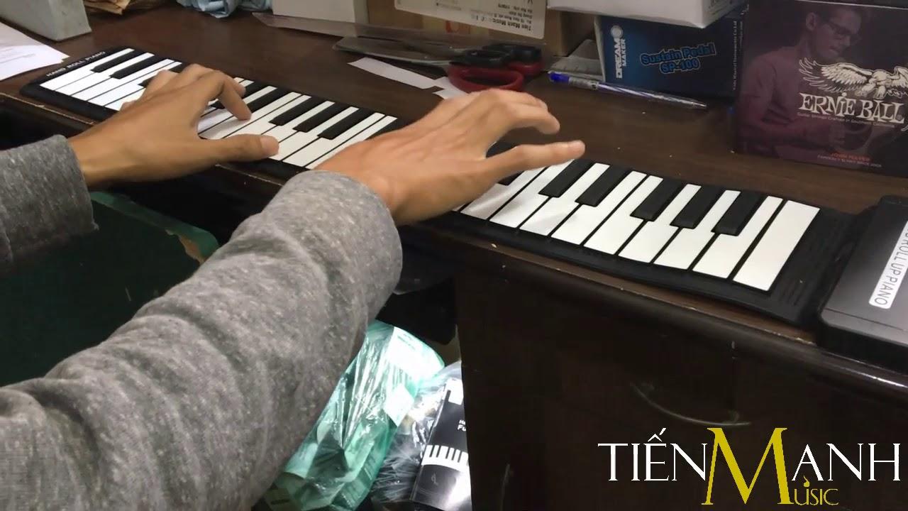 """Piano cuộn dẻo không loa Konix MD49S – Ngẫu hứng """"For Elise"""""""