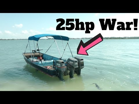 Comparing Three 25hp Outboards