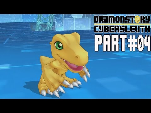 Digimon Story Cyber Sleuth Walkthrough Part 4 Gameplay Lets Play Review