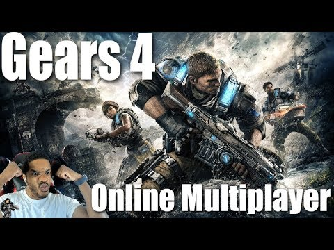 Gears Of War 4 Online Multiplayer | NBA 2K19 After