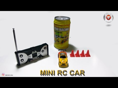 [unboxing] Mini RC Car - Coke Can Car