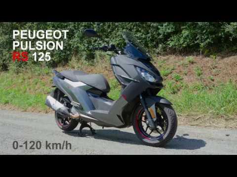 Peugeot Pulsion Rs 125 Cm3 0 120 Km H Acceleration