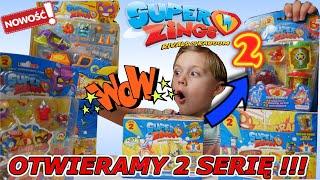SUPER ZINGS! seria 2 - Witajcie ponownie w KABOOM CITY