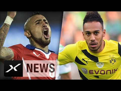 Transfer-News: Einigung im Vidal-Poker, Aubameyang bald weg? | FC Bayern München | Borussia Dortmund