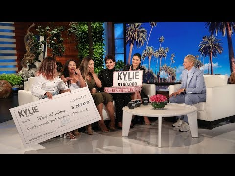 Romeo - Kylie and Kris Jenner Reward Inspiring Women with Huge Gifts