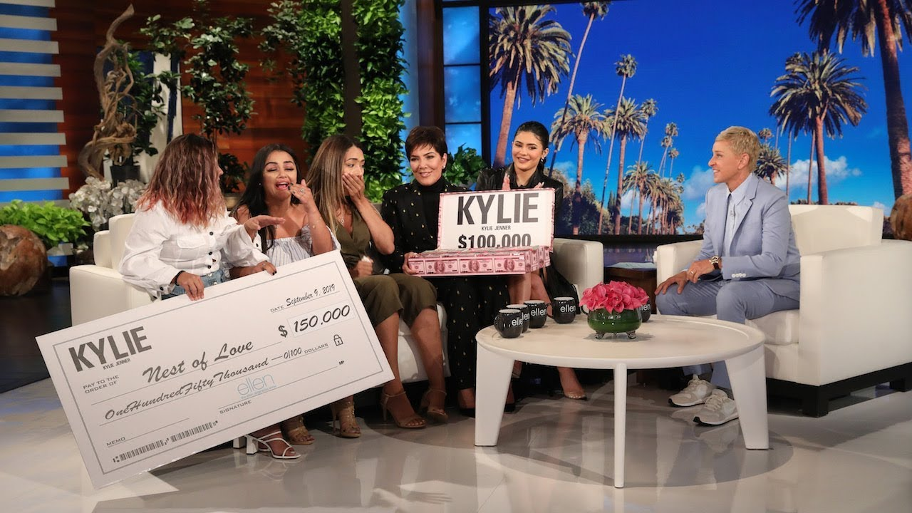 Kylie and Kris Jenner Reward Inspiring Women with Huge Gifts image