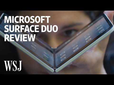 Microsoft Surface Duo Review: When Two Screens Are Better—and Worse | WSJ