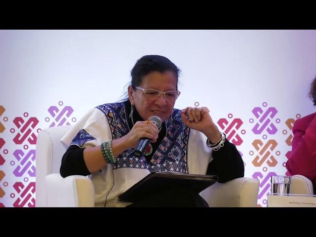 Discurso de la Presidenta de la CDHCM, Nashieli Ramírez, Simposio #RetosDelMundoLaboral