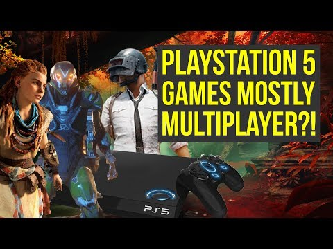PlayStation 5 Games To Be MOSTLY MULTIPLAYER?! (PS5 Games) - Everything PlayStation Podcast