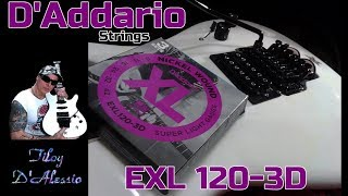 D'Addario Strings ... EXL120-3d ... Ibanez 540 S