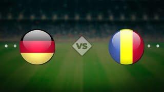 Германия Румыния Чемпионат мира 2022 Европа 7 й тур по футболу онлайн