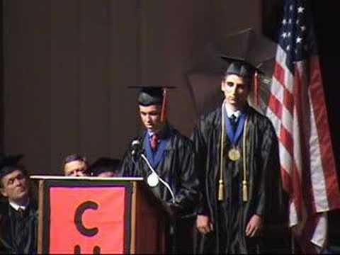 2008 Valedictorian Speech Richard M Nixon And Spiro Agnew
