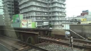 近鉄12200系 モ12253 阪伊特急大阪難波⇒賢島間の車窓