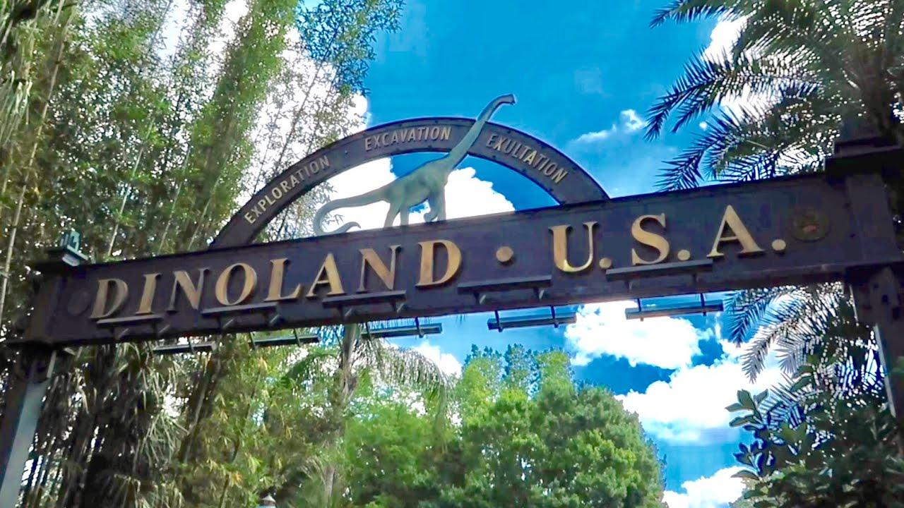 Dinoland USA at Disney's Animal Kingdom - Prehistoric Overload on Dinosaur The Ride & Prime
