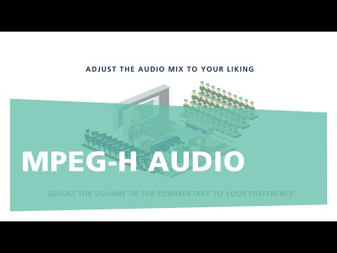 MPEG-H AUDIO: Next Generation Audio For UHD, Streaming And VR